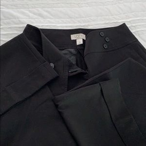 Loft petites Dress pants black
